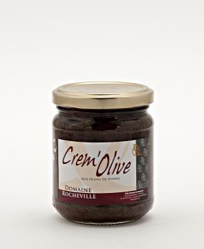 Crem'olive aux Olives de Nyons AOP pot 200g