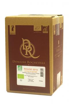 Côtes du Rhône Rouge 2020 BIO CUBI 5 Litres                              5 litres                    5litres