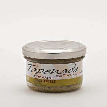 Tapenade noire aux Olives vertes de Pays pot de 90g