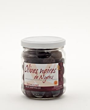 Olives noires de Nyons AOP pot 125g