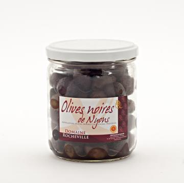 Olives noires de Nyons AOP pot 250g