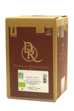 Côtes du Rhône Rosé BIO 2013 BIB 5 litres