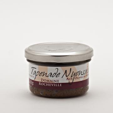 Tapenade noire aux Olives de Nyons AOP pot de 90g